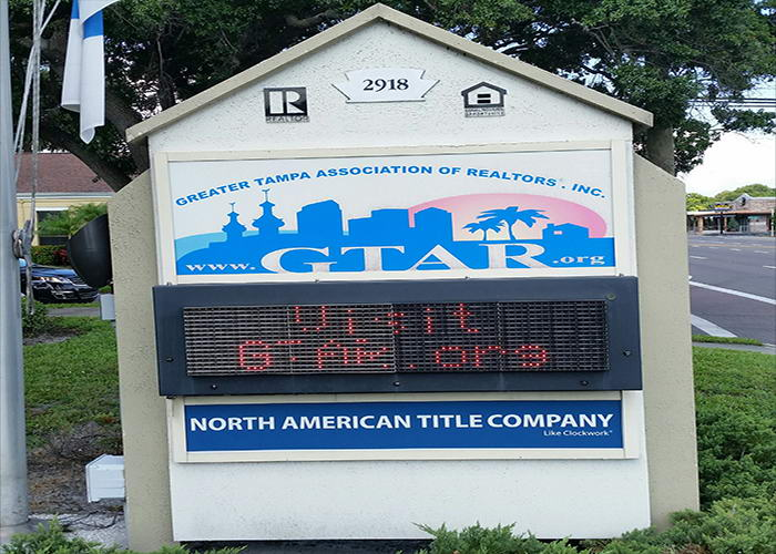 In Tampa, International Sign is ready to help you with your real estate sign installation needs or requirements. International Sign specializes in the design, manufacture, installation of Signs in all of Hillsborough county, International Sign is ready to serve your orlando signs and banners needs. Here to serve you International Sign does business in Tampa in Hillsborough county FL. Area codes we service include the  area code and the 