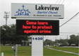 Custom Church Signs & Church LED Message Centers of any size,shape and color - International Sign can do it all. Serving New Port Richey FL Including Orlando FL 