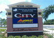 Custom Monument Signs, of any size,shape and color - International Sign can do it all. Serving Tarpon Springs FL Including Fort Myers FL 