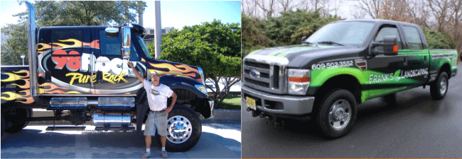 Truck Graphics And Truck Lettering Signs Of All Shapes