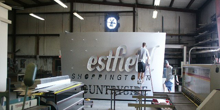50+ years Sign Manufacturing Experience